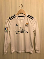 Load image into Gallery viewer, Kids Real Madrid 2018/2019 home Size M Adidas CG0546 jersey