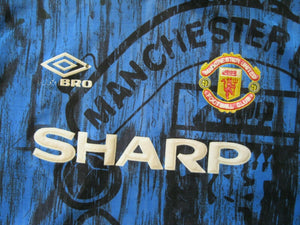Kids Manchester United 1992/1993 away Size L Umbro jersey