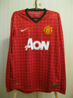 Load image into Gallery viewer, Manchester United #20 van Persie 2012/2013 Home Size M Nike 479279-623 jersey
