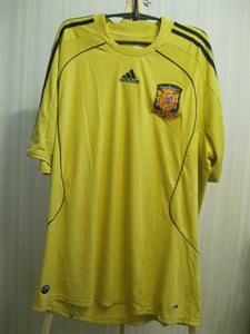 Spain national team 2008/2009/2010 Away Size 2XL Adidas 614175 jersey