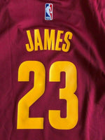 Load image into Gallery viewer, Cleveland Cavaliers #23 LeBron James Size M Adidas jersey
