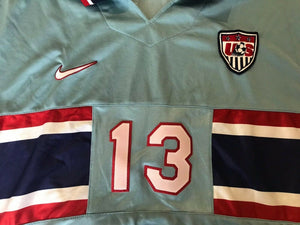 USA #13 Cobi Jones 1995/1996/1997/1998 away/3rd Size L Nike jersey