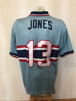 Load image into Gallery viewer, USA #13 Cobi Jones 1995/1996/1997/1998 away/3rd Size L Nike jersey