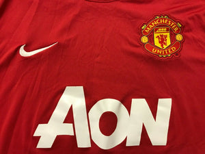 Manchester United 2011/2012 Home Size XL Nike 423932-623 jersey