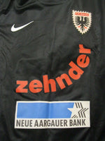 Load image into Gallery viewer, FC Aarau #16 Jackle 2011/2012/2013 away Size M Nike 413138-011 jersey