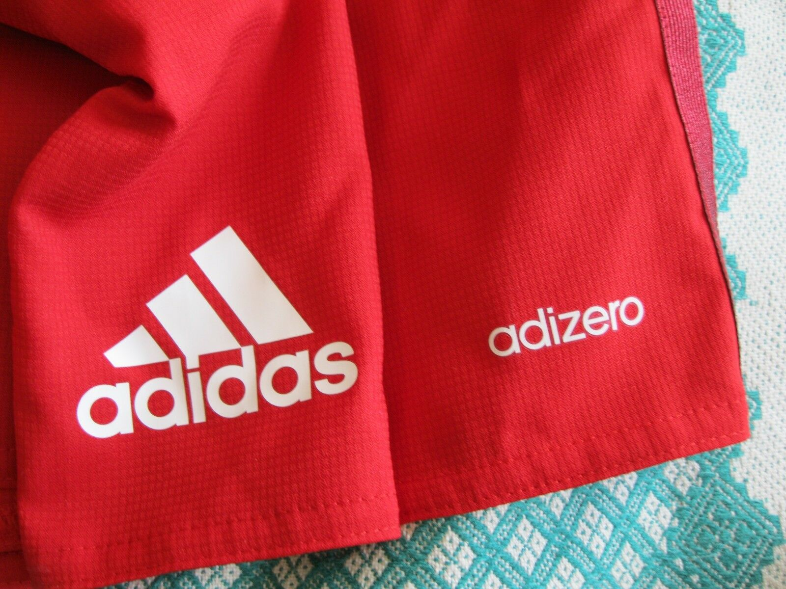 Bayern Munich 2015/2016 home Size XL PLAYER ISSUE Adidas S16728 Adizero shorts