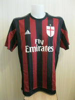 Load image into Gallery viewer, AC Milan #9 Luis Adriano 2015/2016 Home Size XL Adidas S11836 jersey