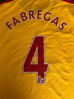 Load image into Gallery viewer, Arsenal London #4 Fabregas 2008/2009 Away Size 2XL Nike jersey