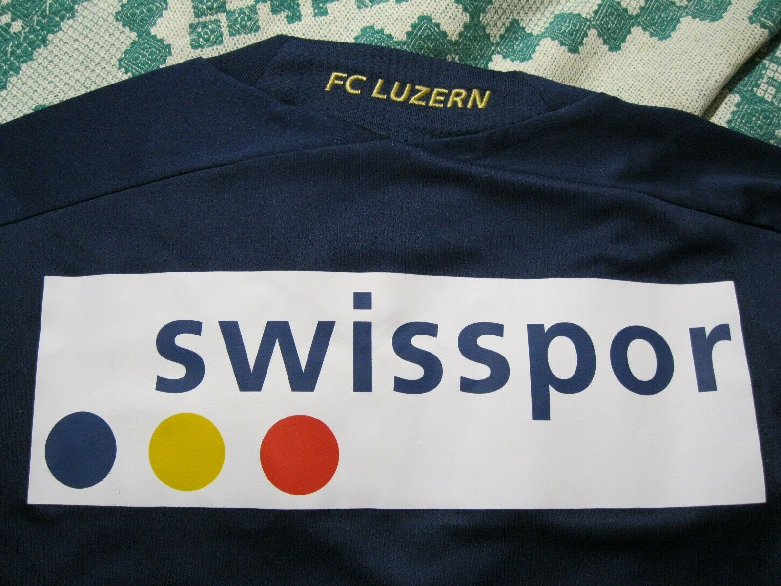 AUTHENTIC Luzern 2013/2014 Home Size 2XL Adidas Formotion U37398 jersey