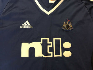 Newcastle United 2001/2002 Away Size L adidas jersey