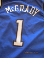 Load image into Gallery viewer, Orlando Magic #1 Tracy McGrady Size XL Champion jersey