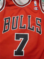 Load image into Gallery viewer, Chicago Bulls #7 Ben Gordon Size L Champion jersey