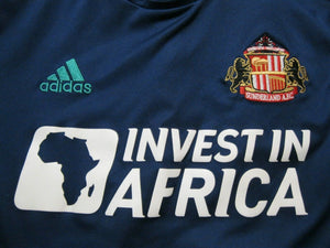 AUTHENTIC Sunderland 2012/2013 away Size M Adidas Formotion Z10210 jersey