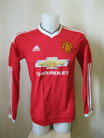 Load image into Gallery viewer, Manchester United #31 Schweinsteiger 2015/2016 Home Size S Adidas AC1416 jersey