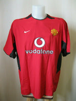 Load image into Gallery viewer, Manchester United #7 Beckham 2002/2003/2004 Home Size XL Nike jersey