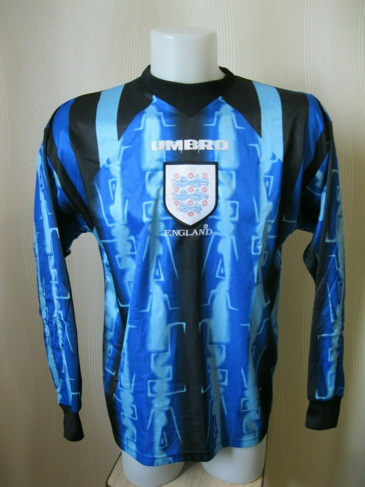 BOYS England national team 1996/1997/1998 Goalkeeper #1 Size Y jersey