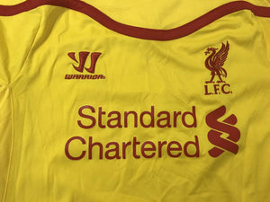 FC Liverpool 2014/2015 Away Size L Warrior jersey