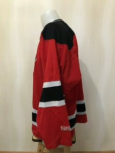 New Jersey Devils Size L CCM Ice Hockey jersey