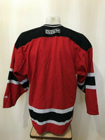 Load image into Gallery viewer, New Jersey Devils Size L CCM Ice Hockey jersey