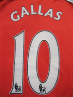 Load image into Gallery viewer, Arsenal London #10 Gallas 2008/2009/2010 Home Size 2XL Nike 287535-614 jersey