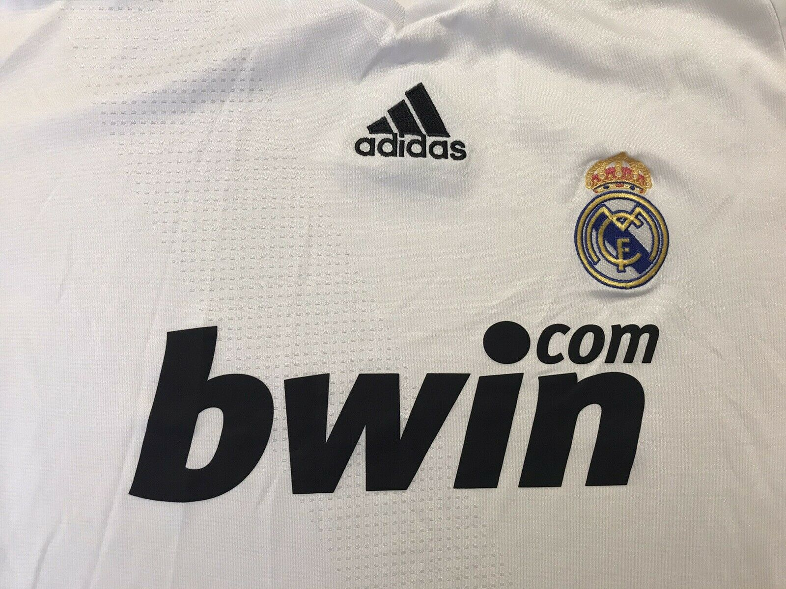 Real Madrid 2008/2009 Home Size L Adidas 315118 jersey