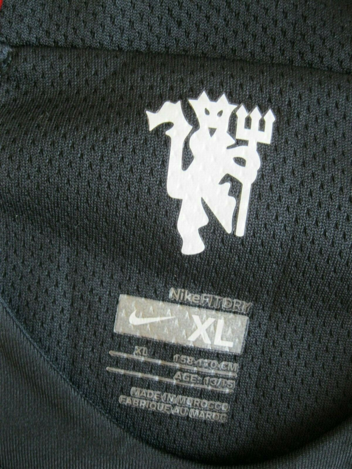 Kids Manchester United 2007/2008 away Size XL Nike 245433-010 jersey
