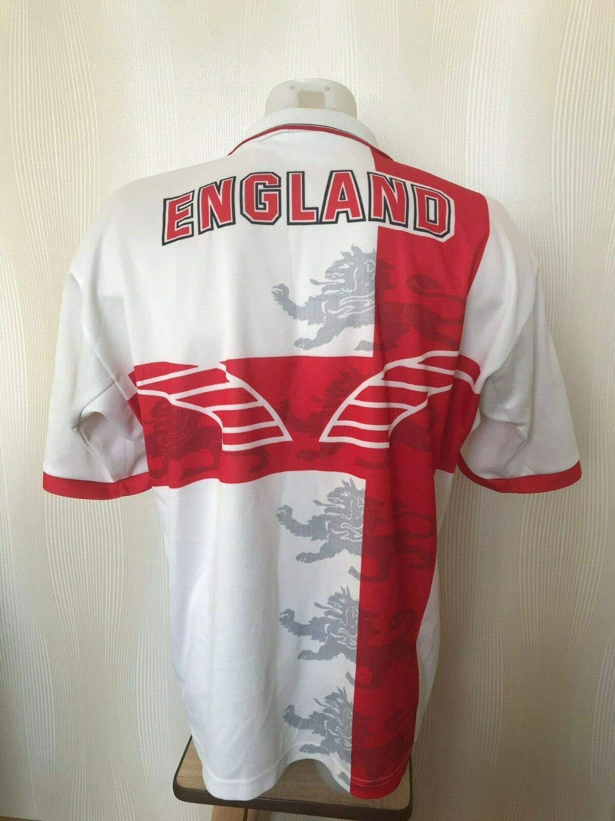 VINTAGE England League World CUP 1995 Size L Puma jersey