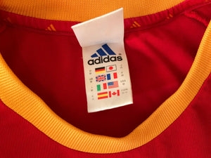 Spain national team 2002/2003/2004 home Adidas Size M jersey