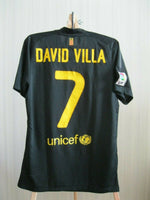 Load image into Gallery viewer, FC Barcelona #7 David Villa 2011/2012 away Size S Nike 419880-010 jersey