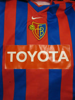 Load image into Gallery viewer, SIGNED FC Basel 1893 2000/2001 home Size L Nike jersey
