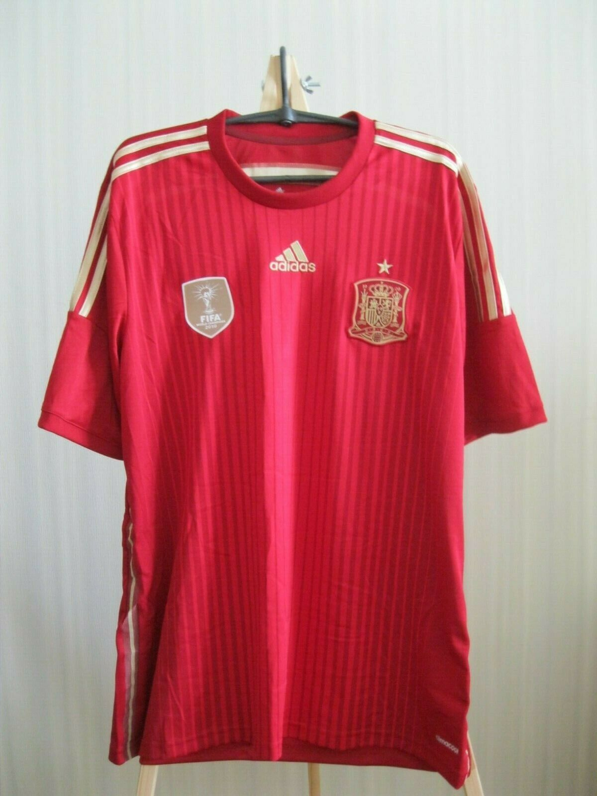 Spain national team 2014/2015 Home Size XL Adidas G85279 jersey