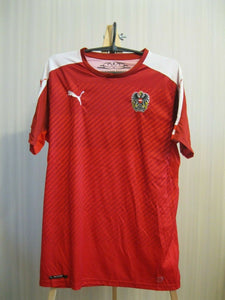 Austria national team 2008/2009 Home Size M Puma 748683 jersey