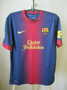 FC Barcelona 2012/2013 home Size M Nike 478323-410 jersey