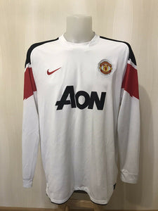Manchester United 2010/2011 Away 2XL Nike 382997-105 jersey