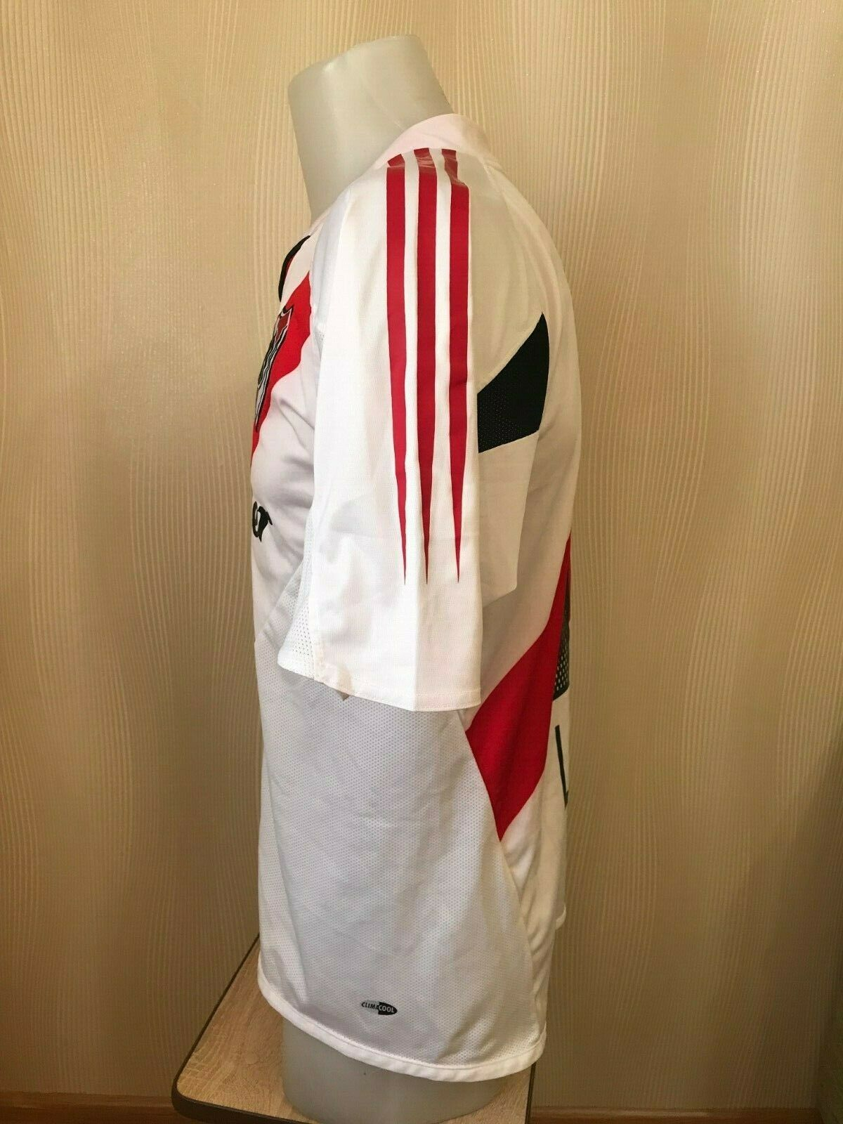 River Plate #18 L. Atkins 2004/2005/2006 Home Size M Adidas jersey