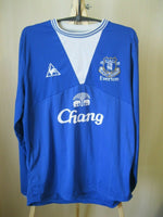Load image into Gallery viewer, FC Everton 2009/2010 home Size L le coq sportfit jersey