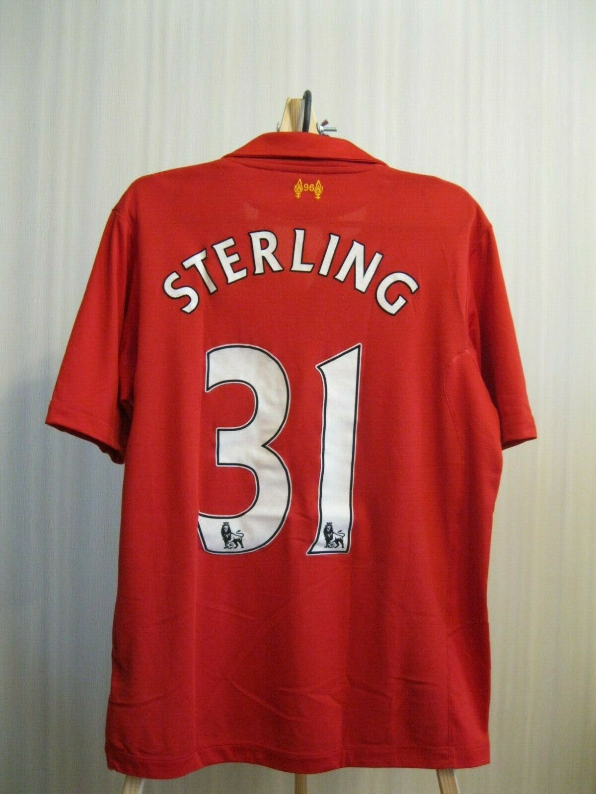 FC Liverpool #31 Sterling 2012/2013 Home Size M Warrior jersey