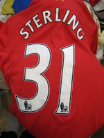 Load image into Gallery viewer, FC Liverpool #31 Sterling 2012/2013 Home Size M Warrior jersey