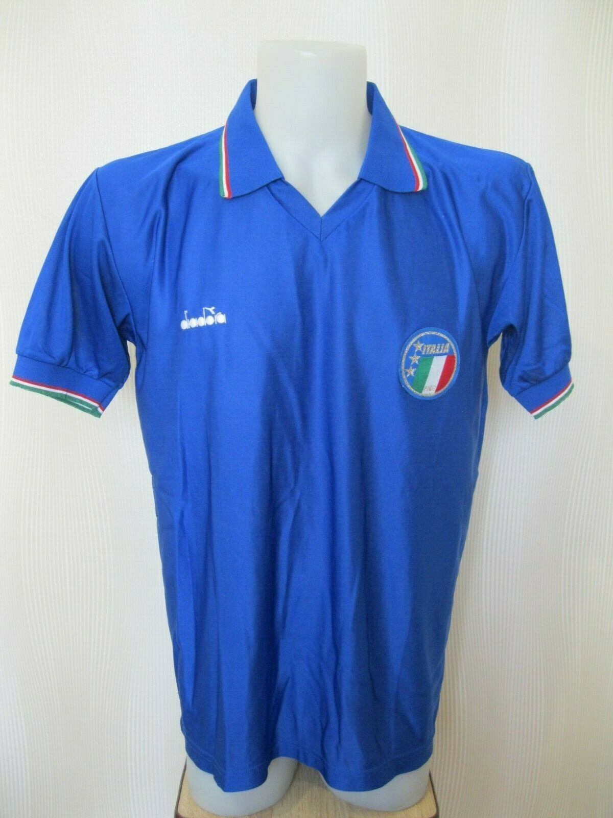 Italy national team 1990/1991/1992 home Size XL Diadora jersey