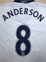 Load image into Gallery viewer, Manchester United #8 Anderson 2008/2009/2010 away/3rd Size M Nike 287611-105 jersey