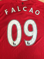 Load image into Gallery viewer, Manchester United #09 Falcao 2014/2015 Home Size L Nike 611031-624 jersey