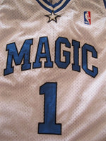 Load image into Gallery viewer, Orlando Magic #1 Tracy McGrady AUTHENTIC Size M adidas jersey