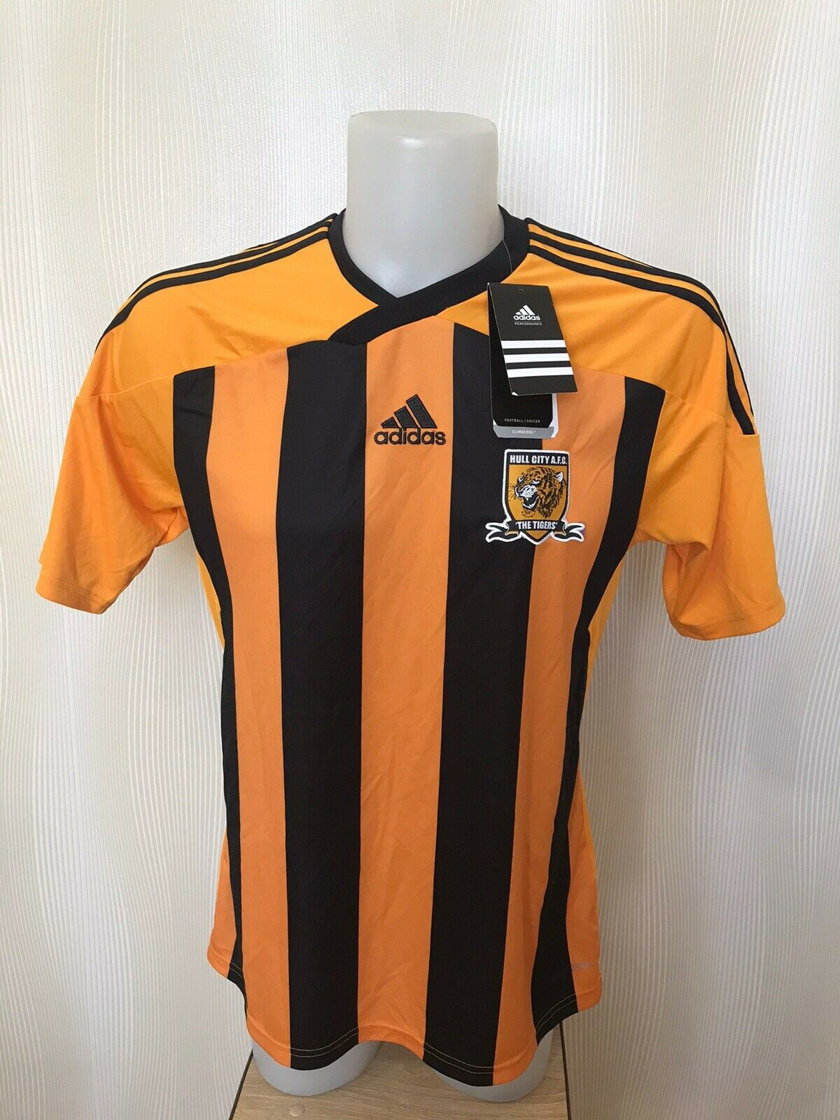 Hull City 2011/2012 Home Size L Adidas O56551 jersey