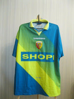 Load image into Gallery viewer, Racing club de Lens #9 Smicer 1996/1998 Home Size XL jersey