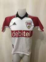 Load image into Gallery viewer, VfB Stuttgart 1999/2000 Home boys L Adidas ASR001/08 jersey