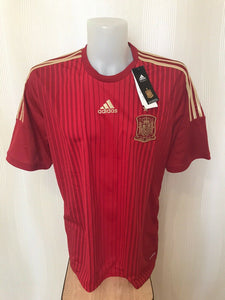 Spain team 2014/2015 Home Size XL Adidas M39411 jersey