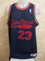 Load image into Gallery viewer, RARE Cleveland Cavaliers #23 LeBron James Size XL Nike jersey