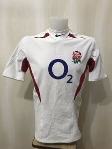 England Rugby 2003/2004 Home PLAYER ISSUE Size XL Nike jersey