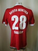 Load image into Gallery viewer, FC Bayern Munich #28 Badstuber 2009/2010 Home Size L Adidas jersey