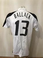 Load image into Gallery viewer, Deutschland #13 Ballack 2004/2005 Home Size M Adidas 555820 jersey